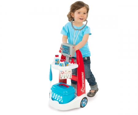 smoby ELECTRONIC MEDICAL TROLLEY