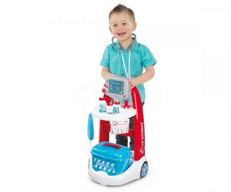 smoby Lékařský elektronický vozík s přísl.