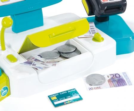 smoby Pokladna elektronická s váhou modrá