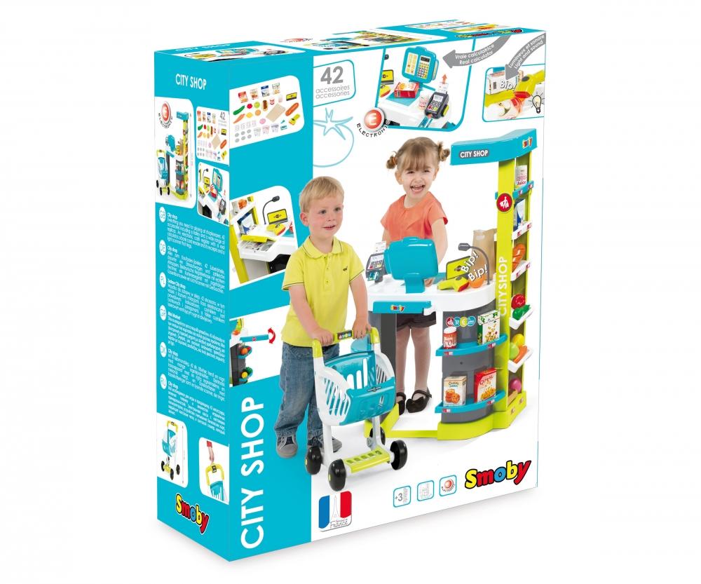 1d731e63a Obchod City Shop modro-zelený - Supermarkety - Hrajeme si na ...