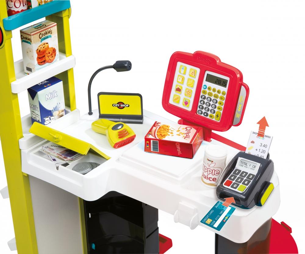 6717d5ae1 Obchod City Shop červeno-zelený - Supermarkety - Hrajeme si na ...
