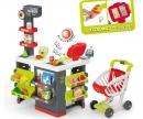 Supermarkt mit Einkaufswagen