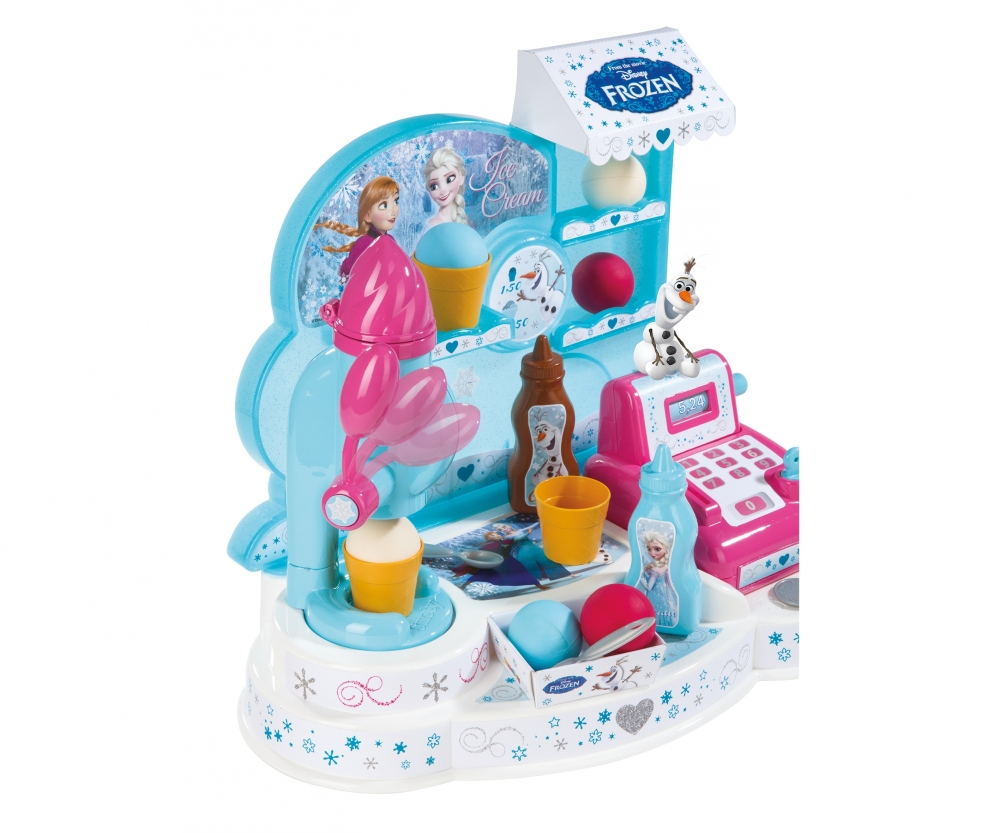Frozen Ice Cream Factory Markets Role Play Products