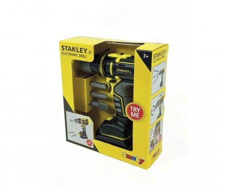 smoby Elektronický aku šroubovák Stanley 3 v 1