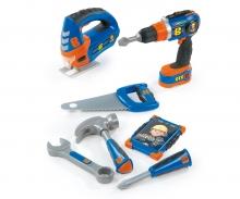 Bob der Baumeister Werkzeug-Set mit Akkuschrauber und Stichsäge