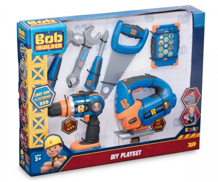 BOB PLAYSET + MECHANICAL DRILL
