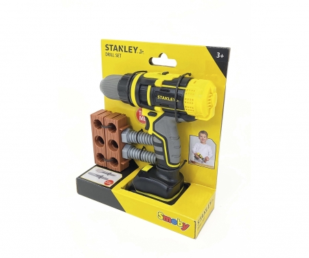 smoby STANLEY PERCEUSE MECANIQUE & ACC