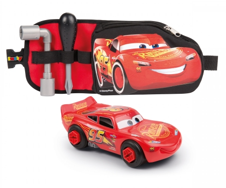 CARS 3 TOOLS BELT + DIY MC QUEEN