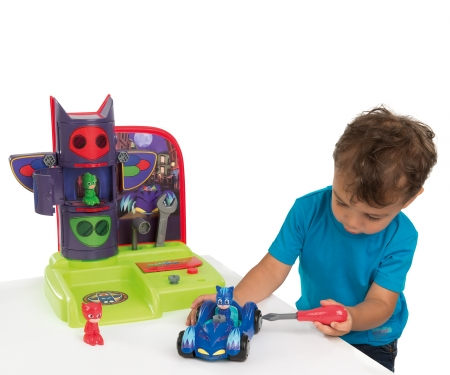smoby PJ MASKS DIY PLAYSET