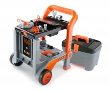 Black+Decker 3-in-1 Multi-Werkbank + Werkzeugkoffer
