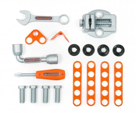 smoby B&D Stół majsterkowicza + Walizka z narzędziami