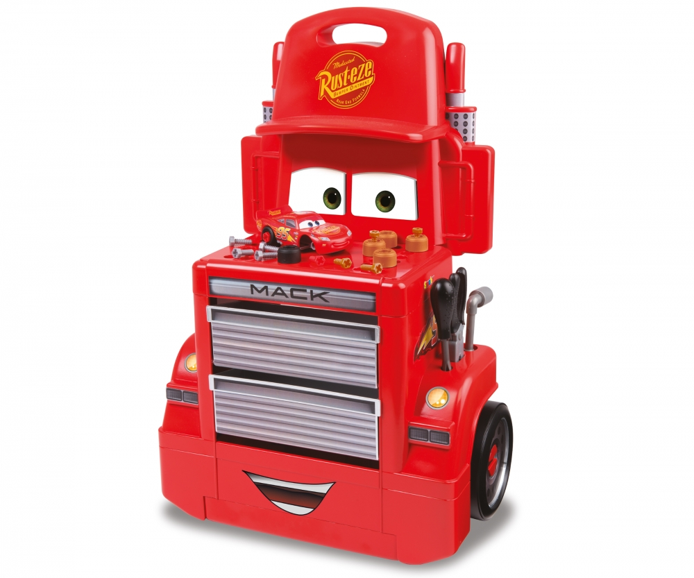cars 3 mack truck trolley diy role play products. Black Bedroom Furniture Sets. Home Design Ideas