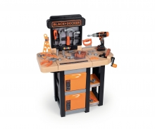 smoby BLACK & DECKER BANCO TRABAJO PLEGABLE