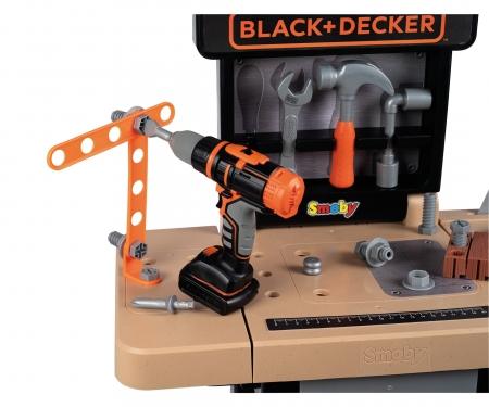 smoby Smoby Black+Decker Werkbank Open-Work