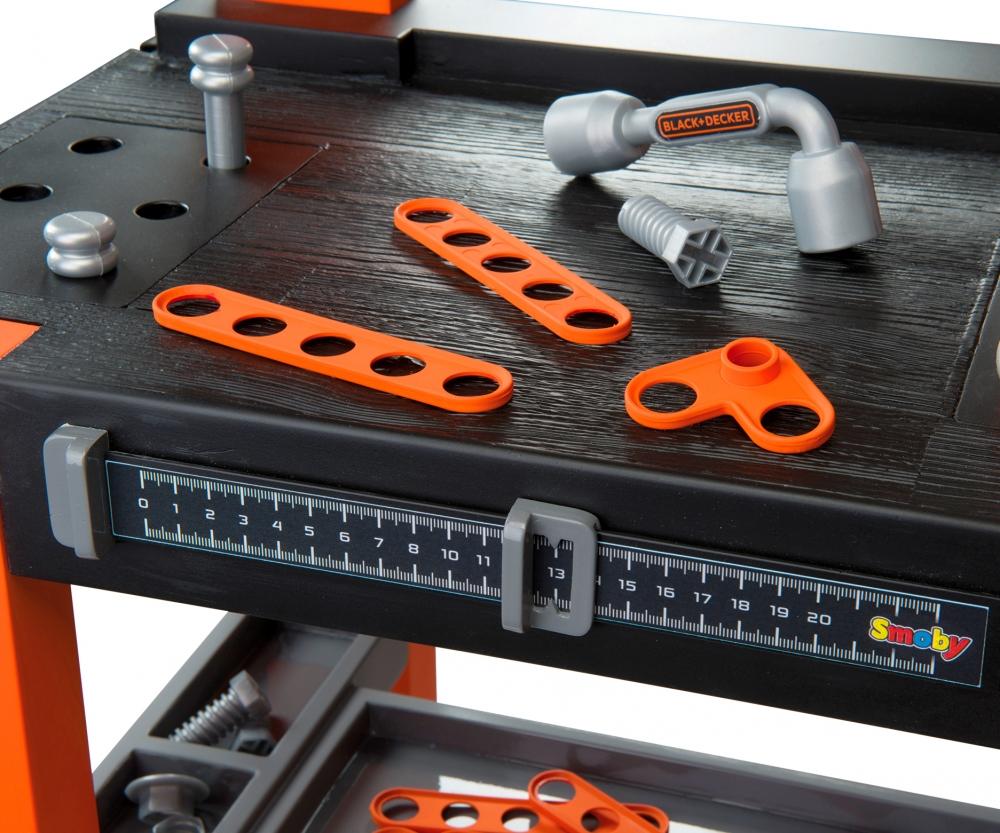 Black decker tavolo da lavoro bricolo one 79 accessori for Tavolo lavoro black decker