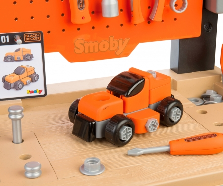 smoby Black+Decker Werkbank Center