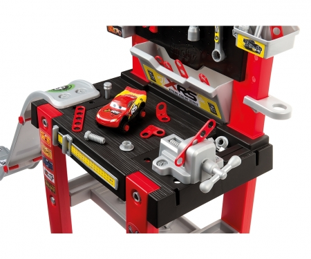smoby CARS XRS BRICOLO CENTER WORKBENCH