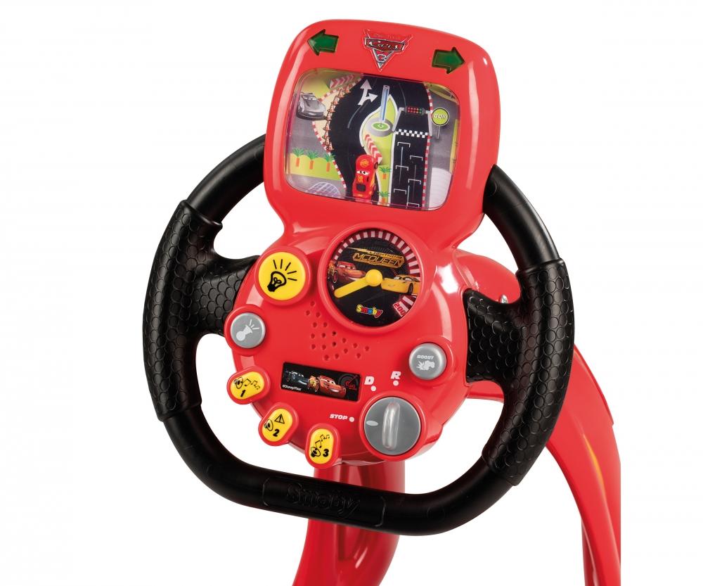 Disney cars 3 v8 driver con supporto per smartphone for Simulatore di arredamento