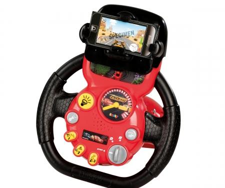 smoby Cars 3 Trenažér V8 Driver s držákem pro Smartphone