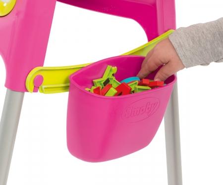Metalltafel Pink