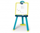 smoby Tabule na kreslení 2v1 stojací modrá