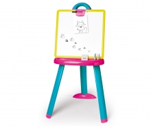 smoby PINK PLASTIC EASEL