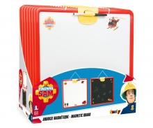 Feuerwehrmann Sam Doppelseitige Wandtafel