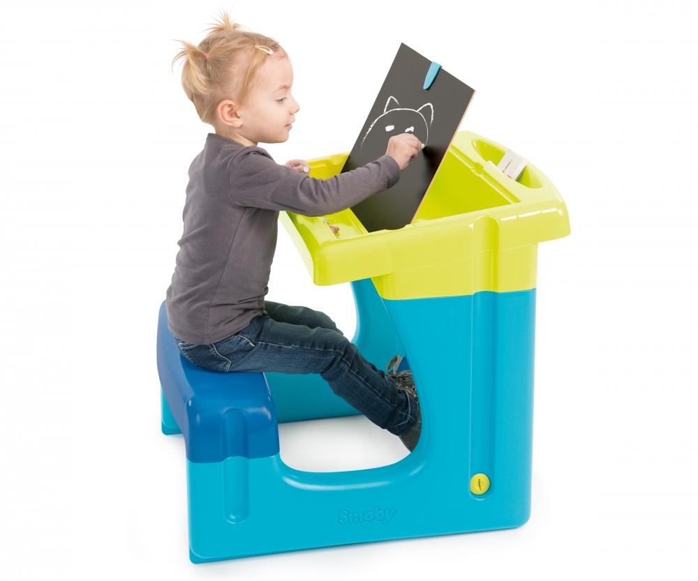 Bureau petit ecolier bleu bureaux loisirs créatifs produits