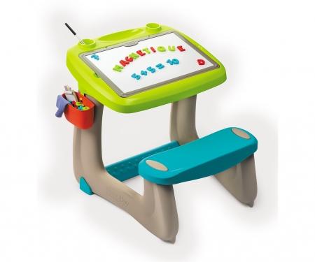 smoby Magnetický psací stůl s lavicí