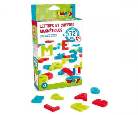 smoby 72 magnetische Buchstaben + Zahlen