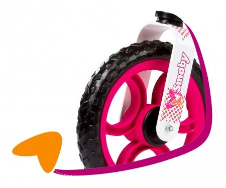 smoby Cykloodrážedlo Mixte růžové, stojan