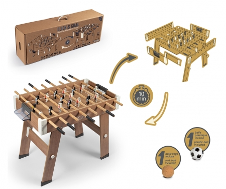smoby CLICK & GOAL FOOTBALL TABLE