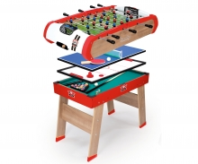 smoby Multifunktions-Tischfußball Powerplay 4-in-1
