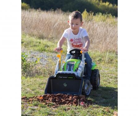 smoby TRACTOR FARMER MAX + TRAILER