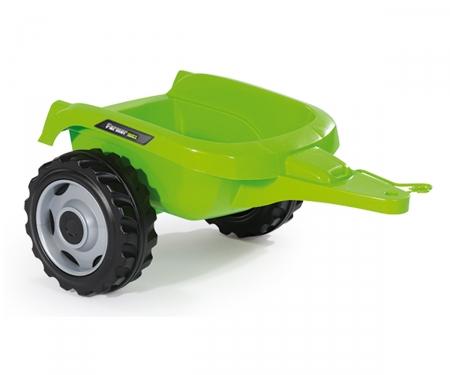 smoby Smoby Traktor Farmer Max mit Anhänger