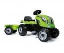 FARMER XL GREEN TRACTOR + TRAILER