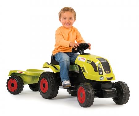 Traktor XL Class z przyczepką