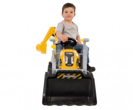 smoby Smoby Traktor Builder Max gelb