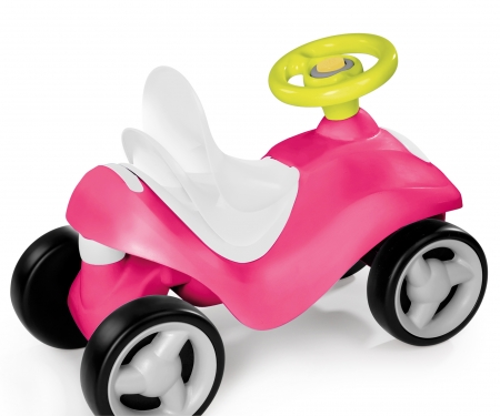 BUBBLE GO PINK RIDE-ON