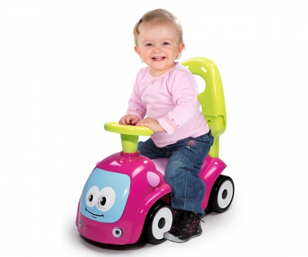 smoby MAESTRO RIDE-ON PINK/GREEN