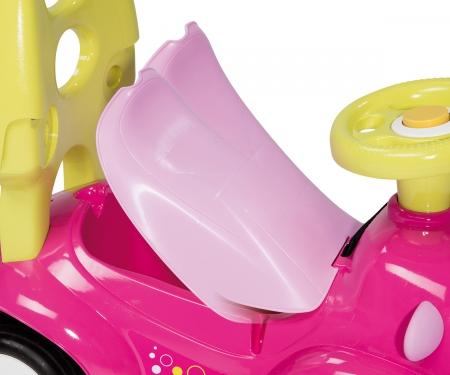 smoby Odrážedlo Maestro III Balade růžovo-zelené elektronické