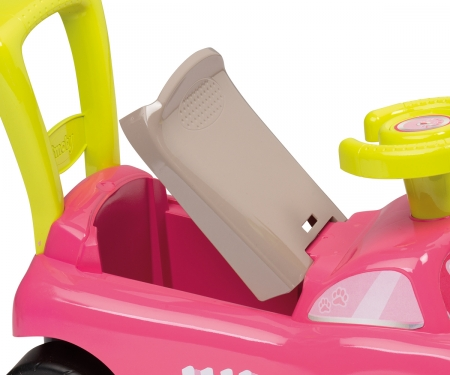 AUTO ROCKING PINK RIDE-ON ELECT