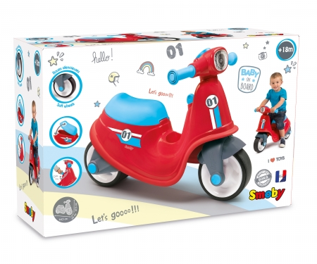 smoby RED SCOOTER