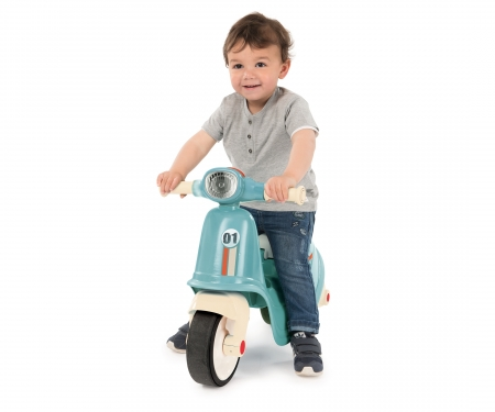 smoby SCOOTER RIDE-ON BLUE