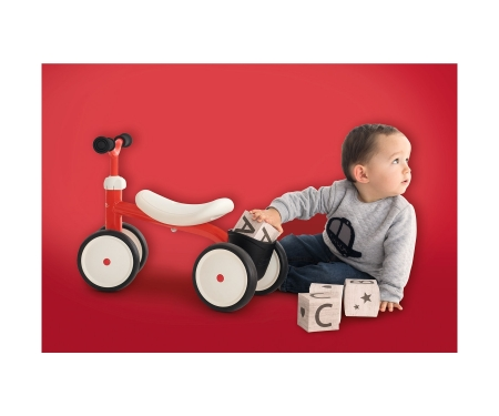 smoby PORTEUR ROOKIE ROUGE