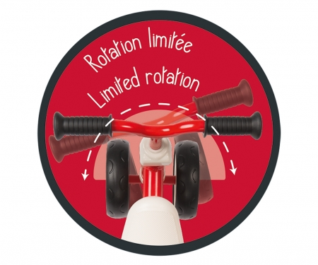 smoby Odrážedlo Rookie červené