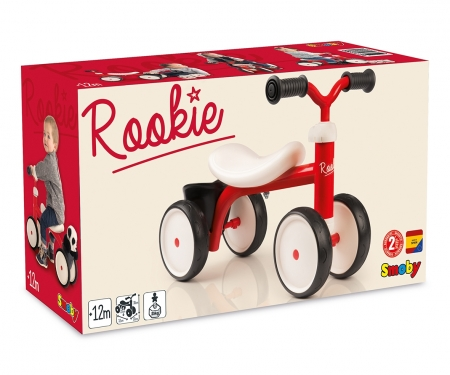 smoby ROOKIE RIDE-ON RED