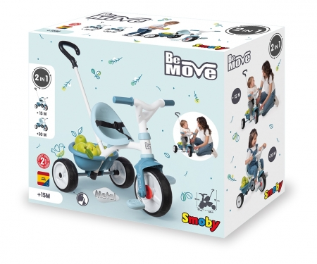 smoby BE MOVE TRICYCLE BLUE