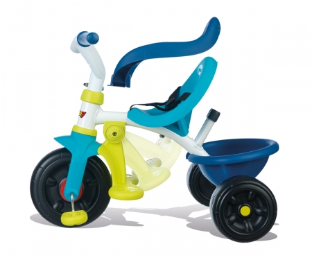 smoby TRICICLO BE FUN CONFORT AZUL