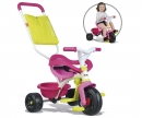 smoby TRICICLO BE FUN CONFORT ROSA